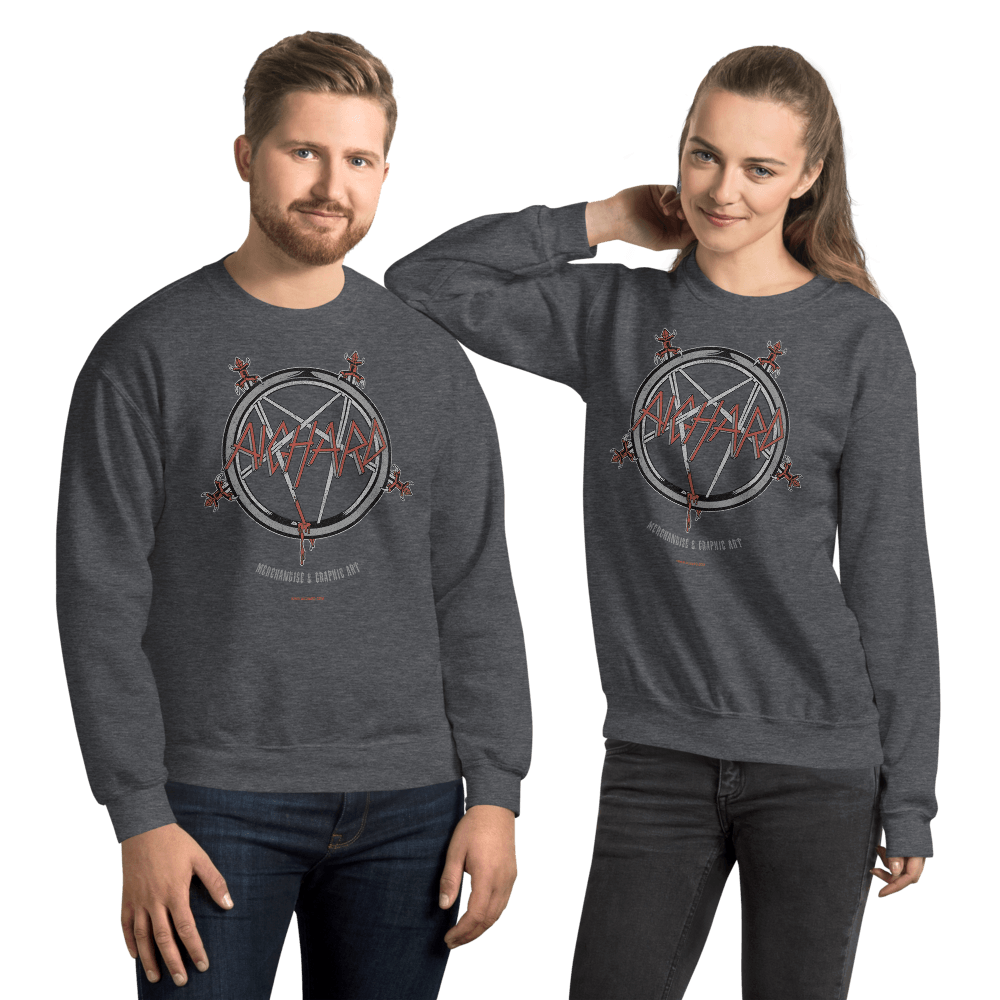 Slayghardtanic | Unisex Sweatshirt - Dark Heather / XL