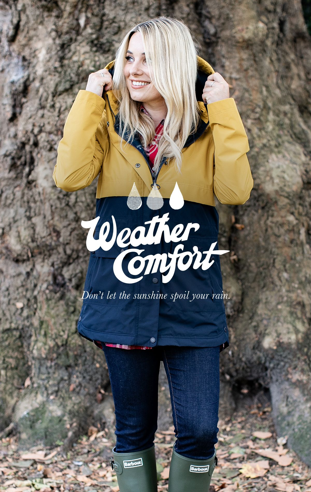 To celebrate the launch of the Weather Comfort Collection