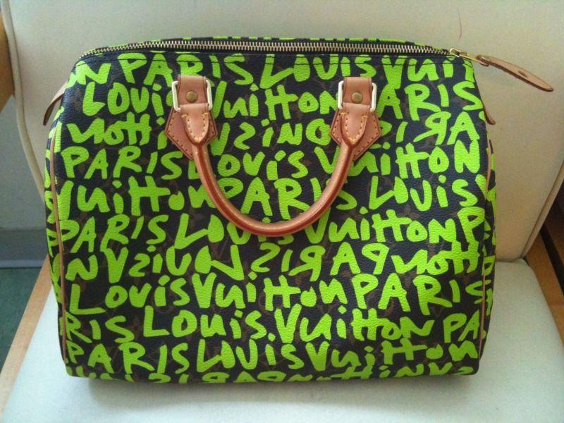 473613b63f0e Limited Edition Louis Vuitton Stephen Sprouse Graffiti Speedy 30 ...