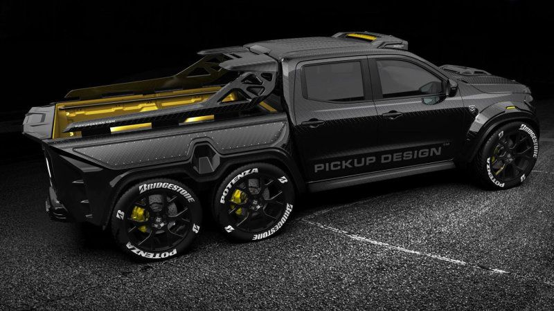 Mercedes Benz X Class By Carlex Design Is A Carbon Fiber 6x6