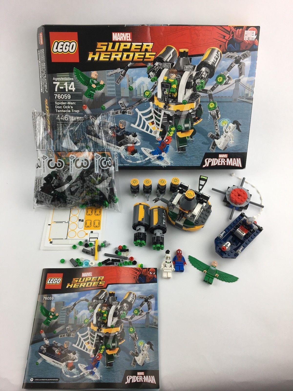 Spider-Man STICKER SHEET LEGO 76059 Doc Ock/'s Tentacle Trap