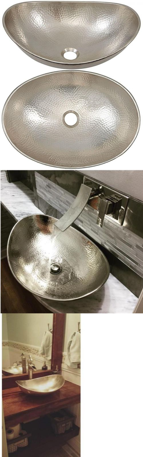 Sks 71283 Bathroom Vessel Sk Above Counter Handcrafted Copper