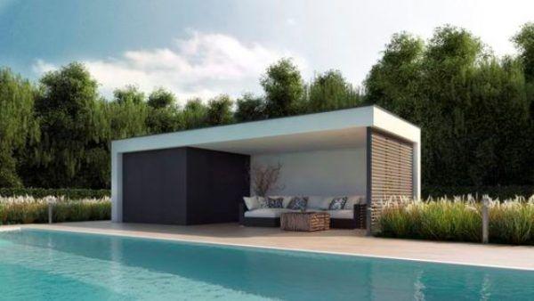 Ides Pour Intgrer Un Pool House Moderne  Cot De Votre Piscine