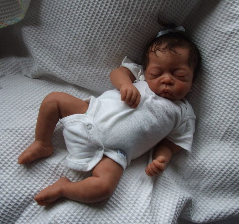 african american reborn doll artist kenya is an african