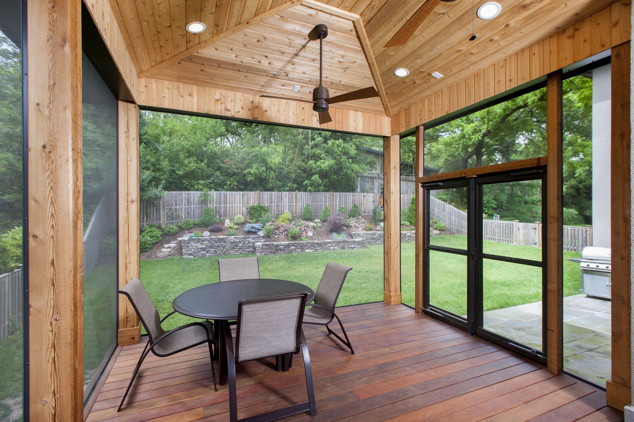 Unique Bethesda Screened Porch Porch Design Screened Porch Designs Retractable Screen Porch