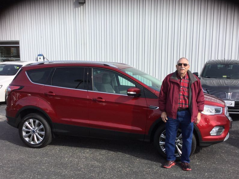 thank you, carl! another purchase from us, here at duncan ford a new