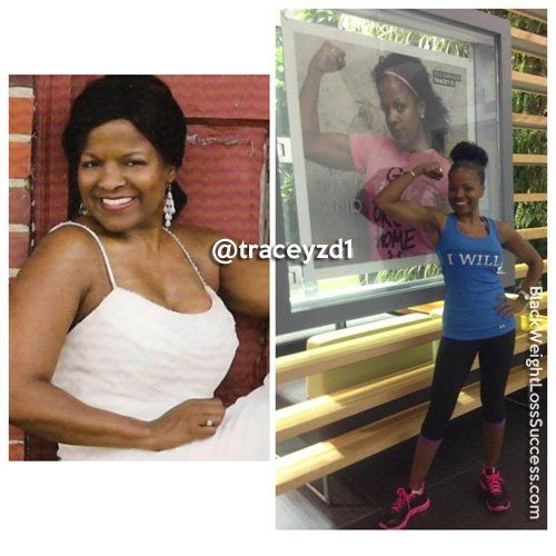 Breast Cancer Survivor: Tracey Dickson lost 40 pounds