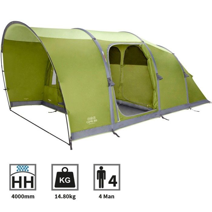 The Vango Capri 400 Airbeam tent is a quick pitching four berth tent with a pre attached front extension for added living space and comfort.  sc 1 st  Pinterest & pu003eThe Capri 400 inflates giving you a super-fast effortless pitch ...