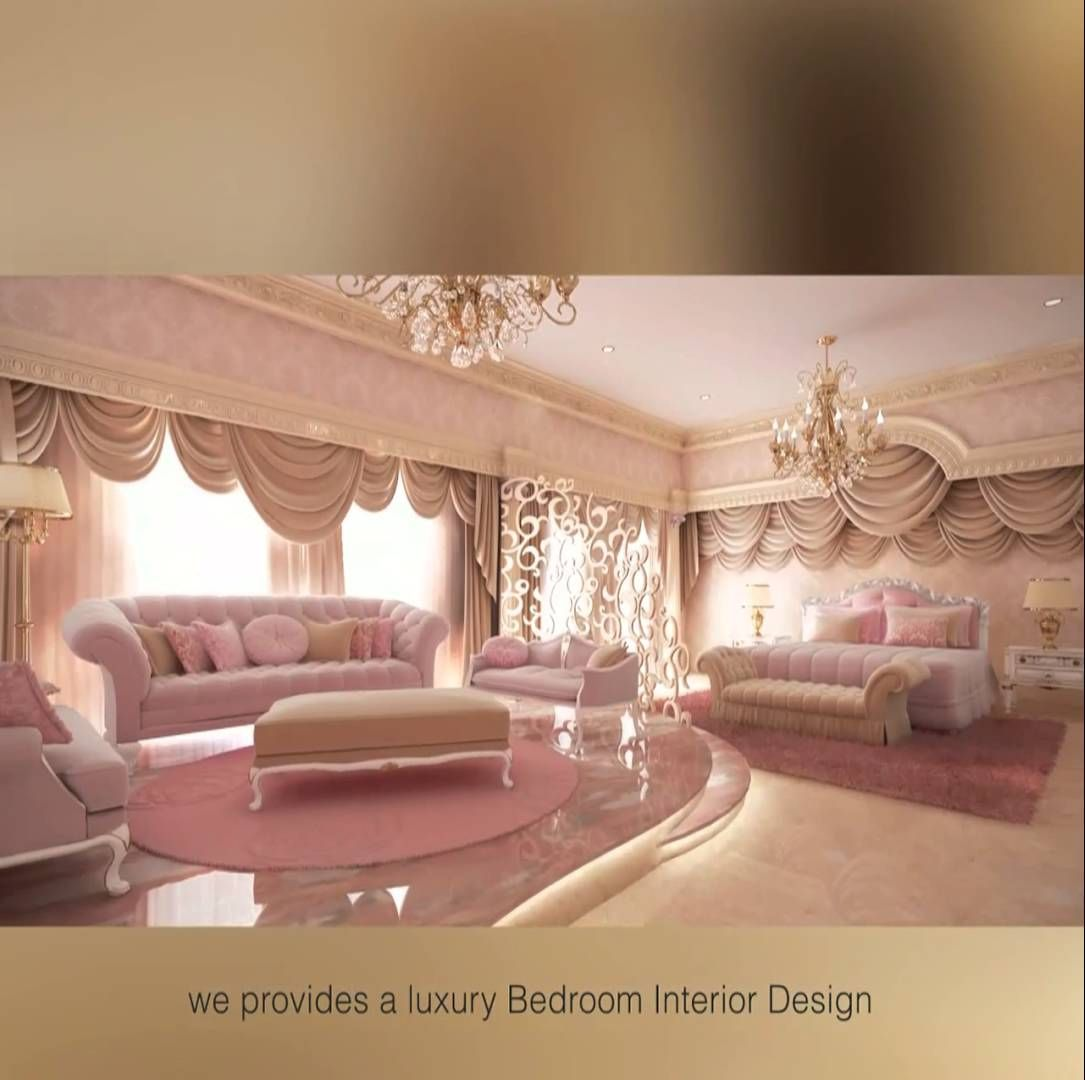 Luxury Bedrooms Interior Design Fascinating Amazing Bedroom Interior Design  Internal Decoration Design 2018