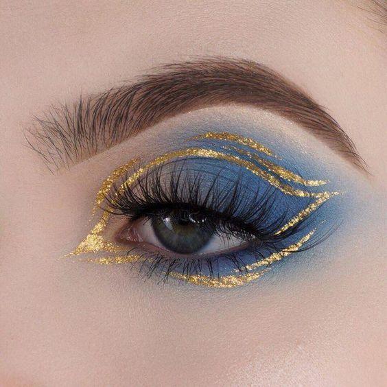Make up Schau Makeup Looks Schweres Make up Schminke -  Make-up; Schau; Makeup Looks; Schweres Make