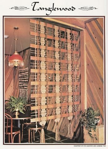 11 Vintage Macrame Patterns for Plant Hangers, Room Dividers, More - SewJewel