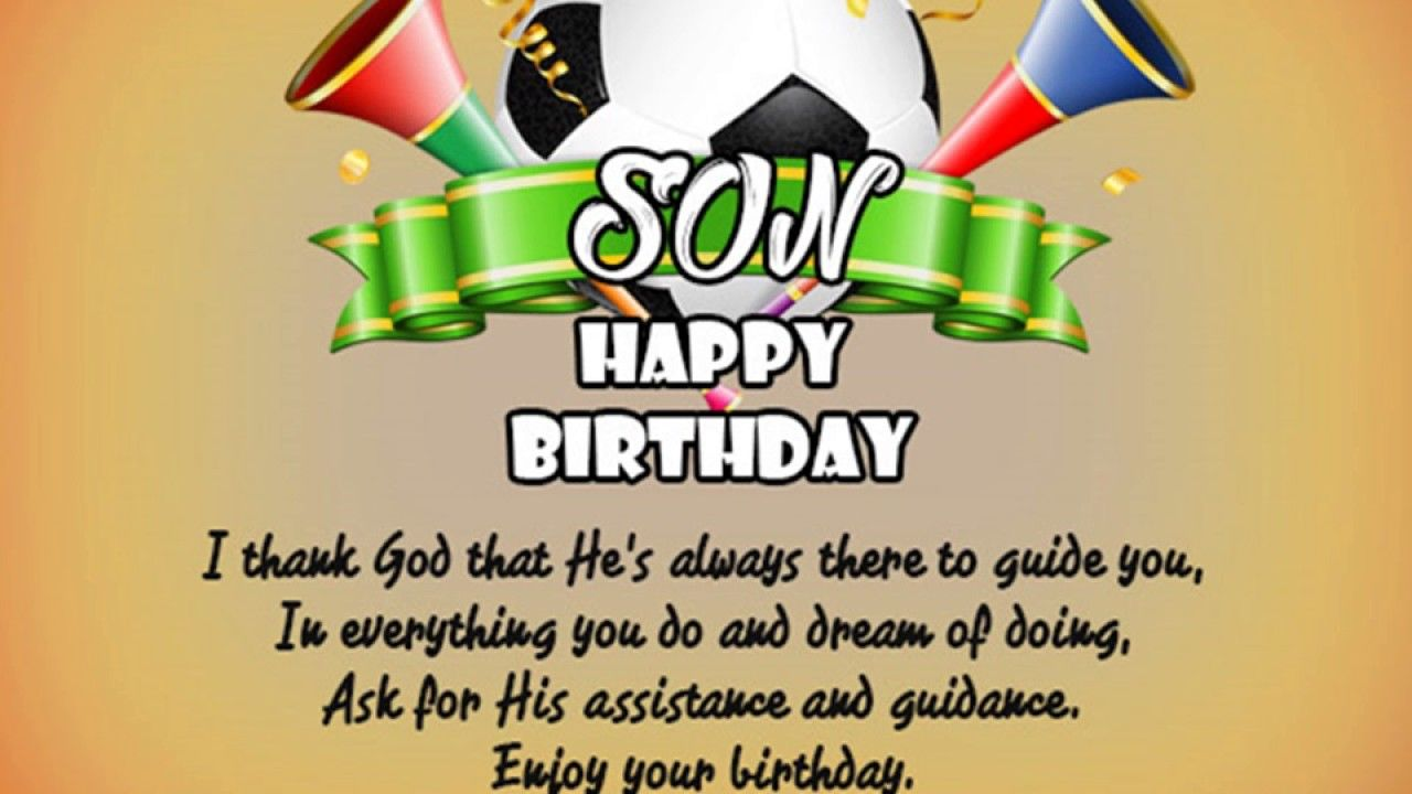 Happy Birthday Son Special Birthday Quotes For Son