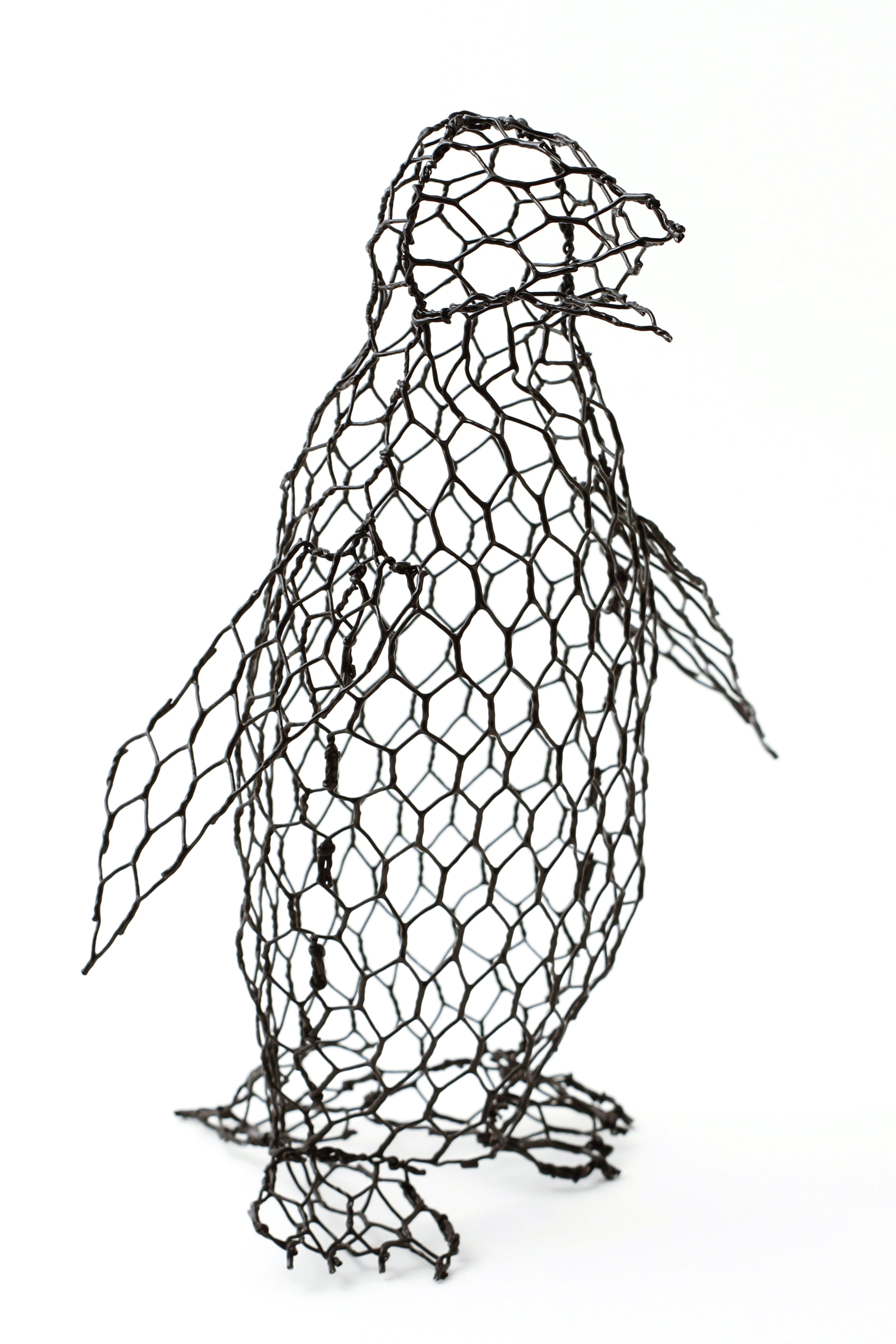 Chickenwired Large Penguin Template Included In The Penguin
