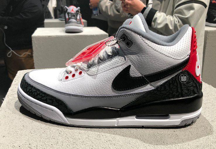 the latest 2d9c8 7788d Nike Air Jordan 3 JTH (Justin Timberlake/Tinker Hatfield ...