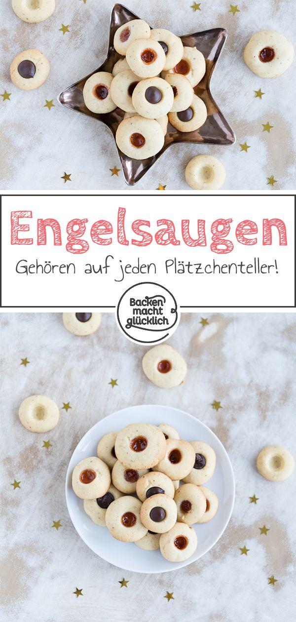 Engelsaugen (Husarenkrapfen) #plätzchenrezept
