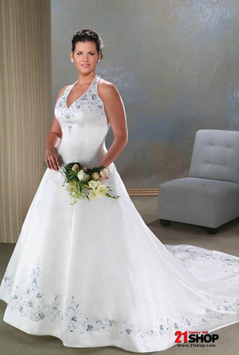 Blue plus size wedding dresses  Unique Plus Size Wedding Dresses   Gowns Designer  Welcomed