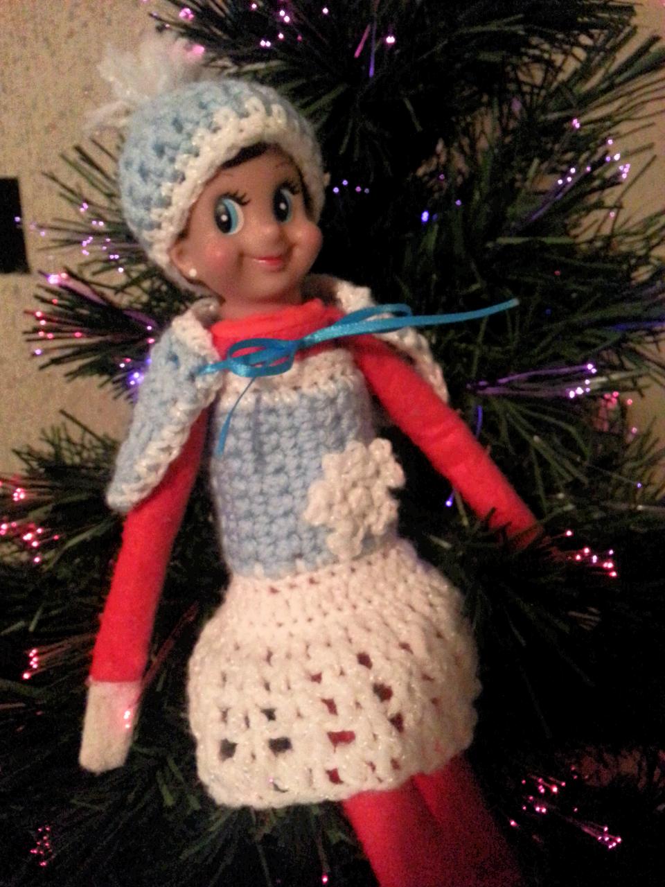 Coco Christmas Elf Cloth Christmas Decoration