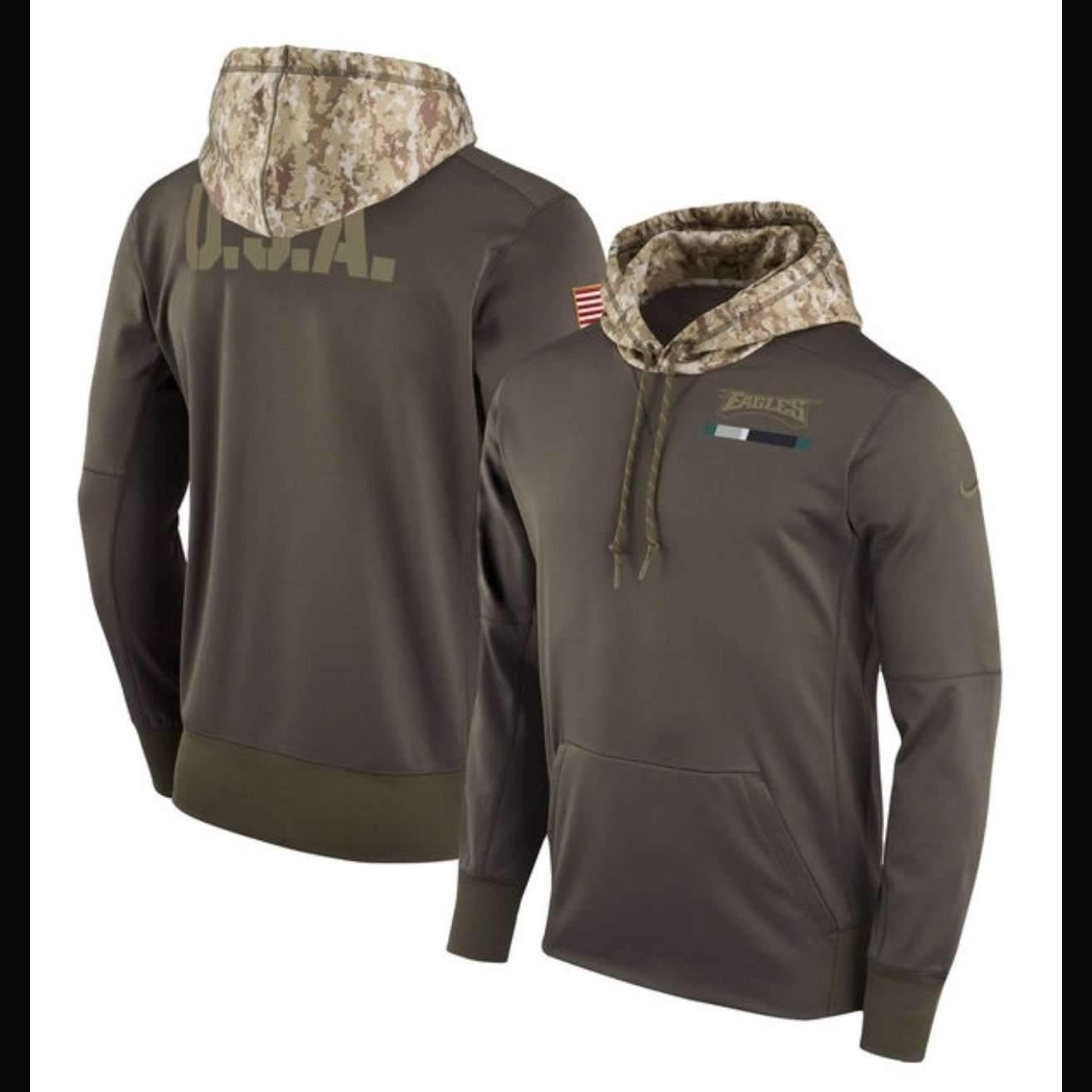 eagles military sweatshirt