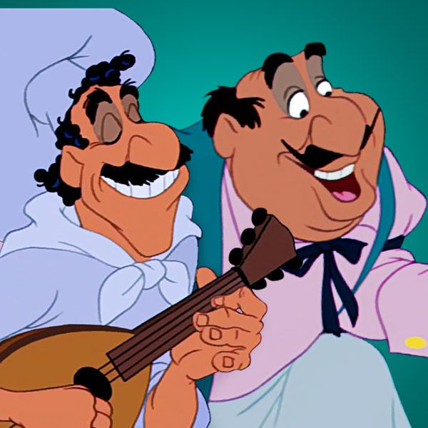Lady and the Tramp Disney dieulois