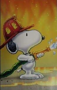 Fireman Snoopy Tap The Pin For The Most Adorable