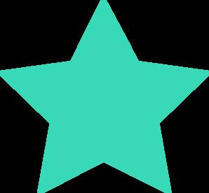 turquoise star md png 298 276 stars sun moon pinterest rh pinterest com star clip art vector star clipart that i can copy