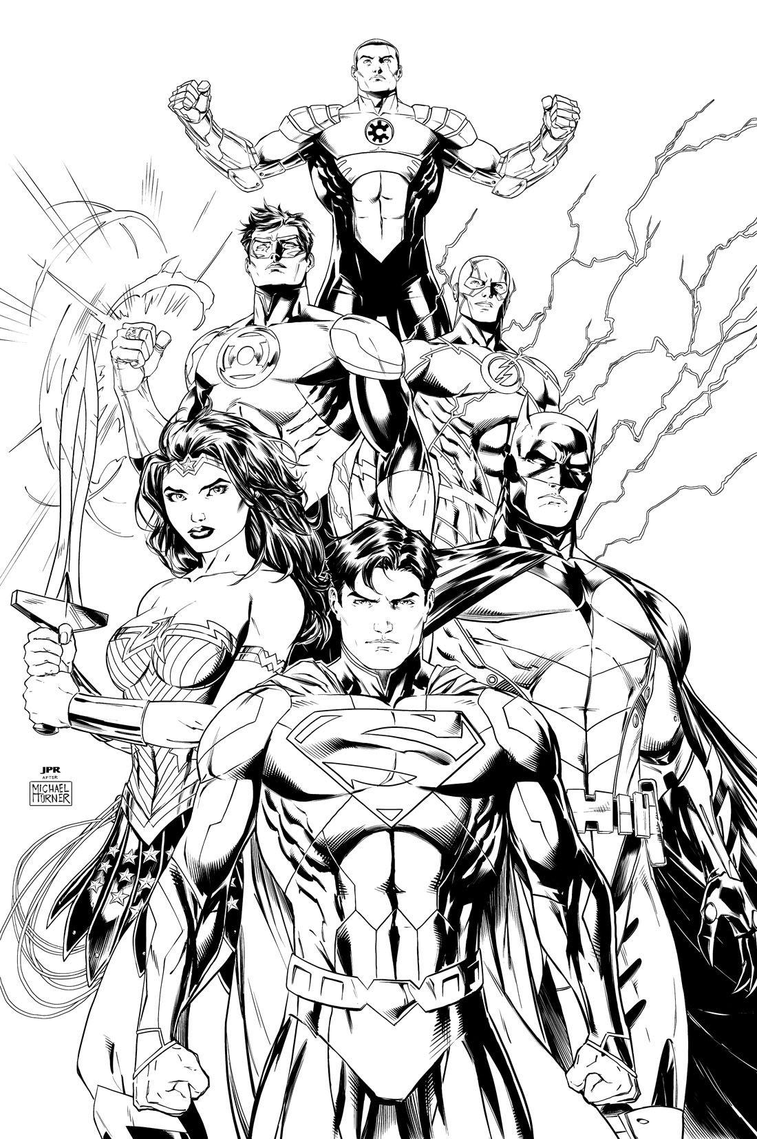 dc comics coloring pages # 1