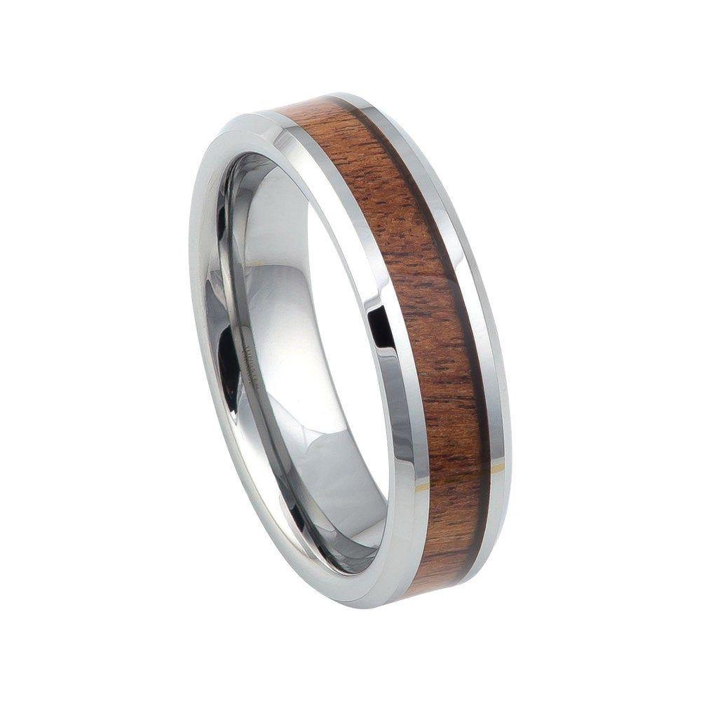 Mahogany Wood Ring Mens Wedding Band Tungsten Carbide 6mm Etsy Mens Wedding Bands Tungsten Carbide Mens Wedding Bands Tungsten Tungsten Wedding Bands