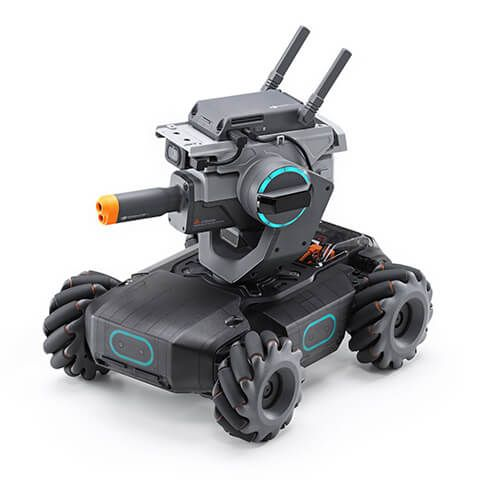 DJI RoboMaster S1 is part of Educational robots, App control, Robotics competition, Python programming, Learn to code, Robot - The RoboMaster S1 is DJI's intelligent educational robot that lets users dive into the world of robotics through exciting features and gameplay