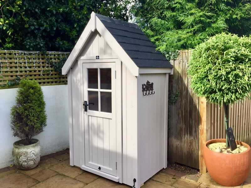 Luxury Ply Lined Tool Tidy Garden Sheds The Cosy Shed Co