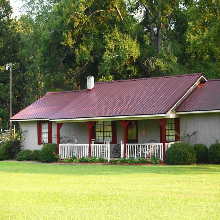 Best Houses With White Metal Roofs Bing Images Metal Roofed 400 x 300
