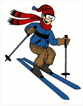 winter fun enjoy skiing and snowboarding in the madison area at rh pinterest com  free clipart snow skiing