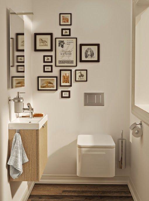 Decora tus paredes con cuadros Decorar tu casa, Es facil y Baño - muebles para baos pequeos