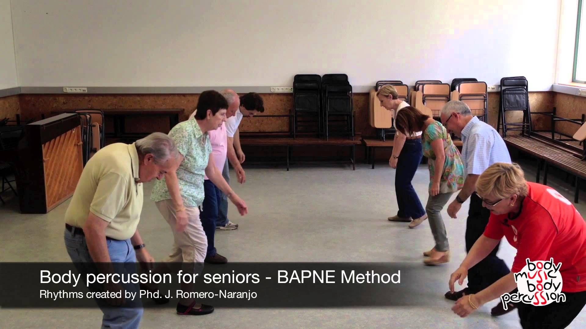 Body percussion for elderly people BAPNE Method 2