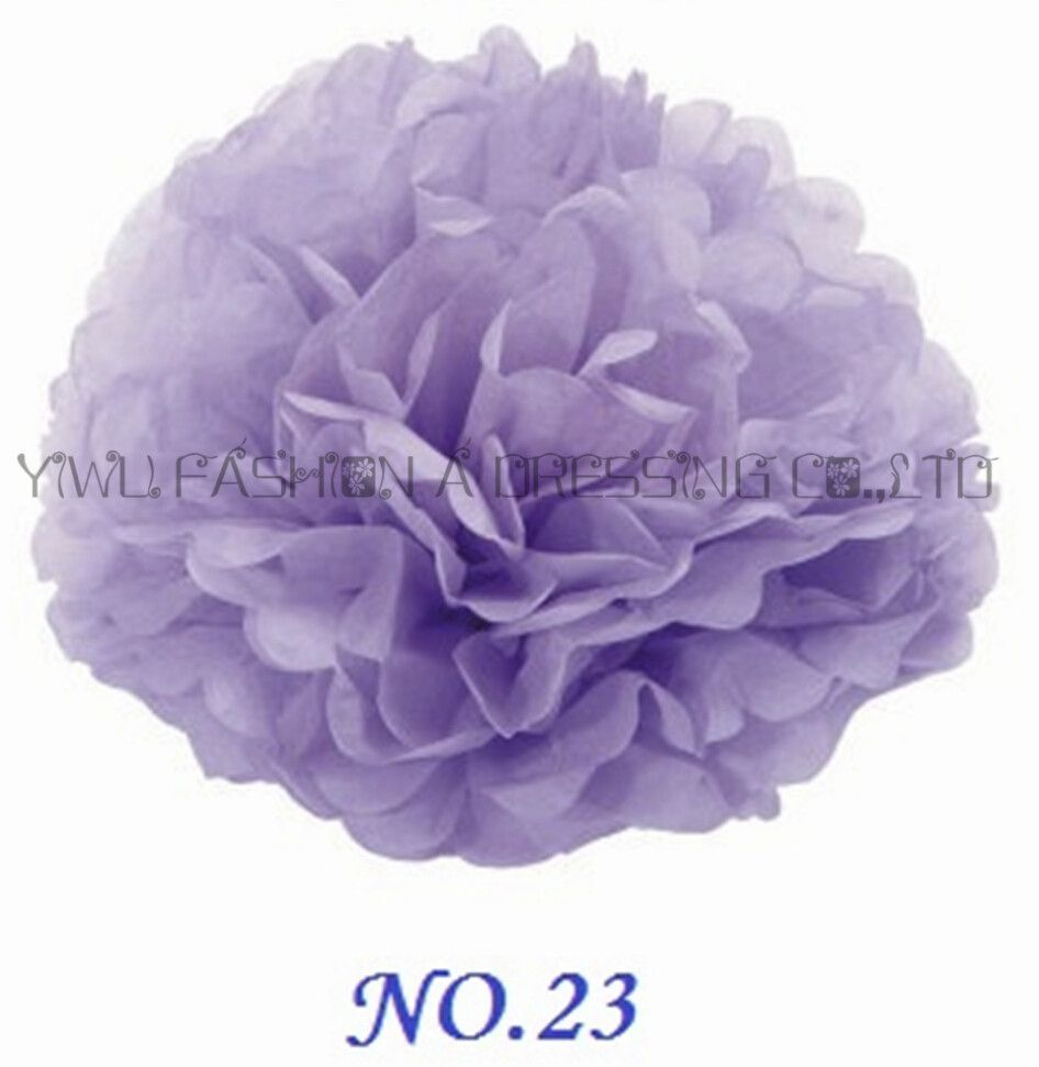 Wedding decorations paper flowers  Sales Promotion  inch cm Tissue Paper Pom Poms Wedding Party