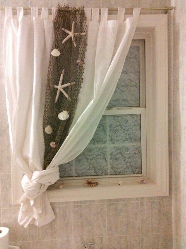 Id es de d co de salle de bain en style marin pas cher salle de bains et salle - Deco salle de bain pas cher ...
