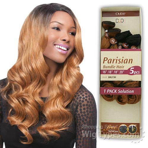 Outre Batik Duo Bundle Synthetic Weave Parisian Hair 5pc 16 18