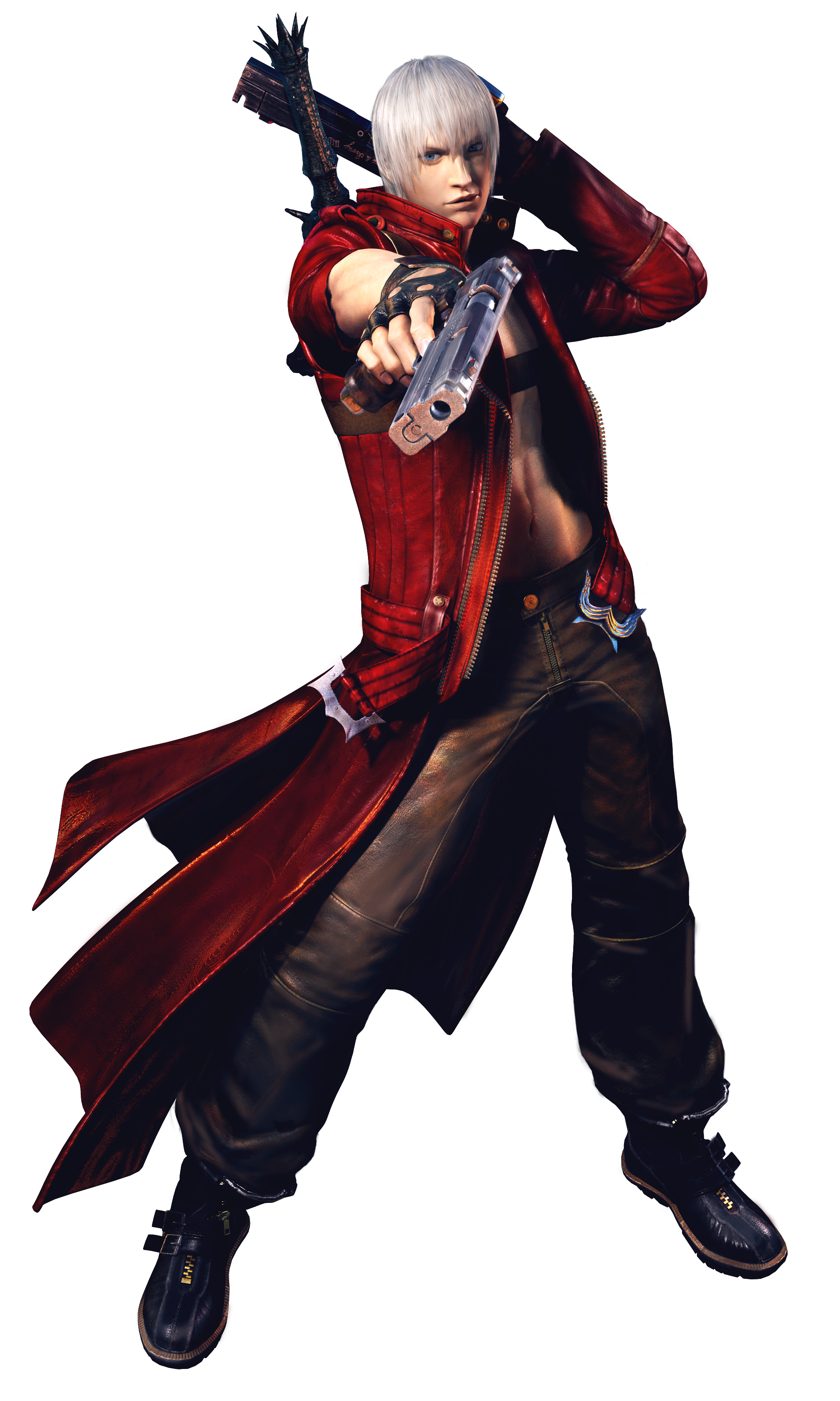 Dante (Devil May Cry) Awesome pinup Artworks