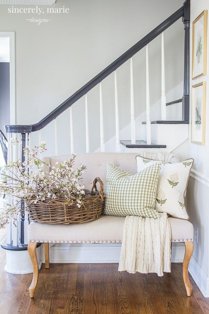 Fresh & Classic Spring Home Tour - Sincerely, Marie Designs