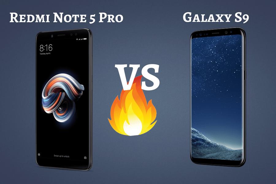 Redmi Note 5 Pro Vs Samsung Galaxy S9 Suggestion Buddy Galaxy Samsung Galaxy S9 Note 5