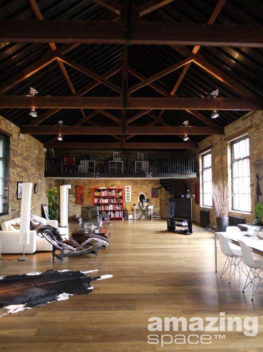 Interior Design Loft Converted Factory London Amazing E