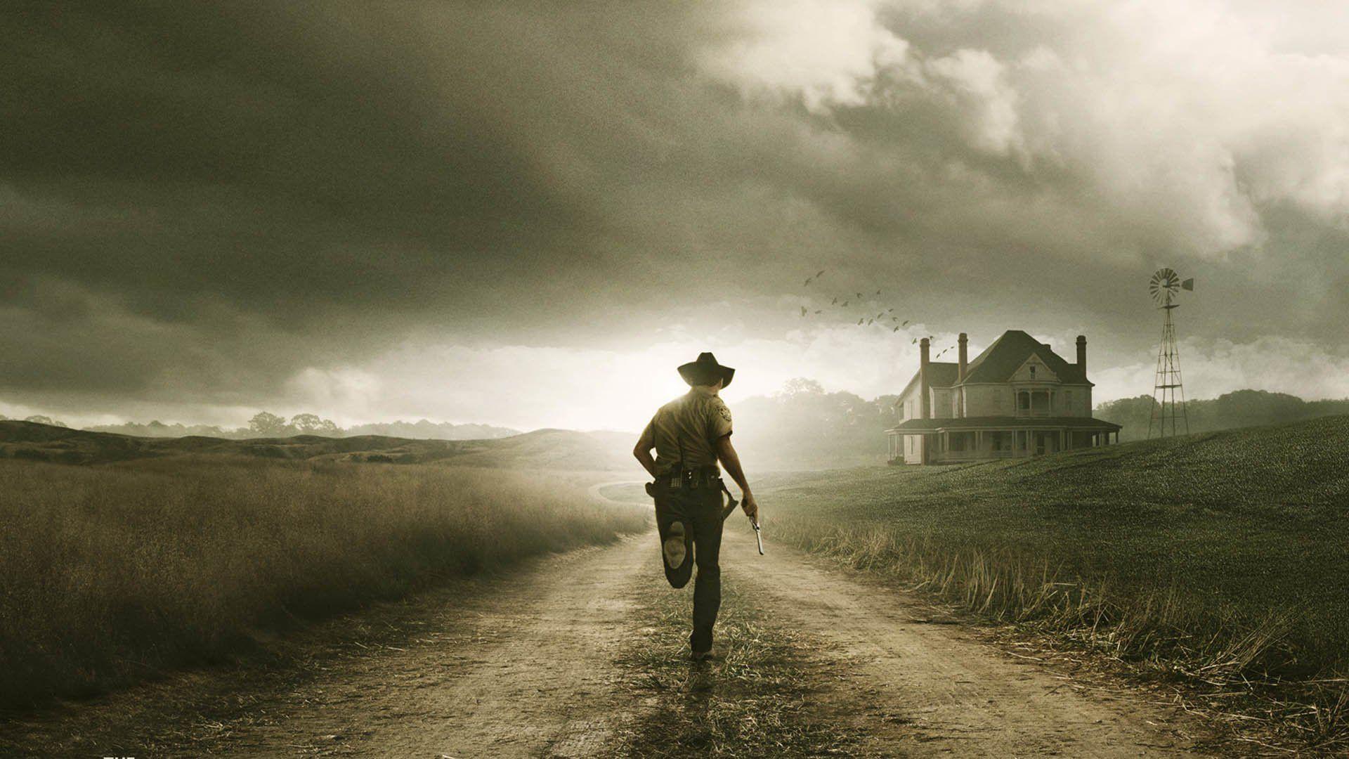 Download 1920x1080 The Walking Dead Rick Grimes Wallpaper