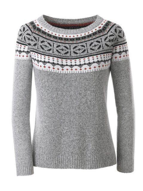 Photo of Casual Looks Norwegerpullover, Pullover mit Rundhals-Ausschnitt online kaufen | OTTO