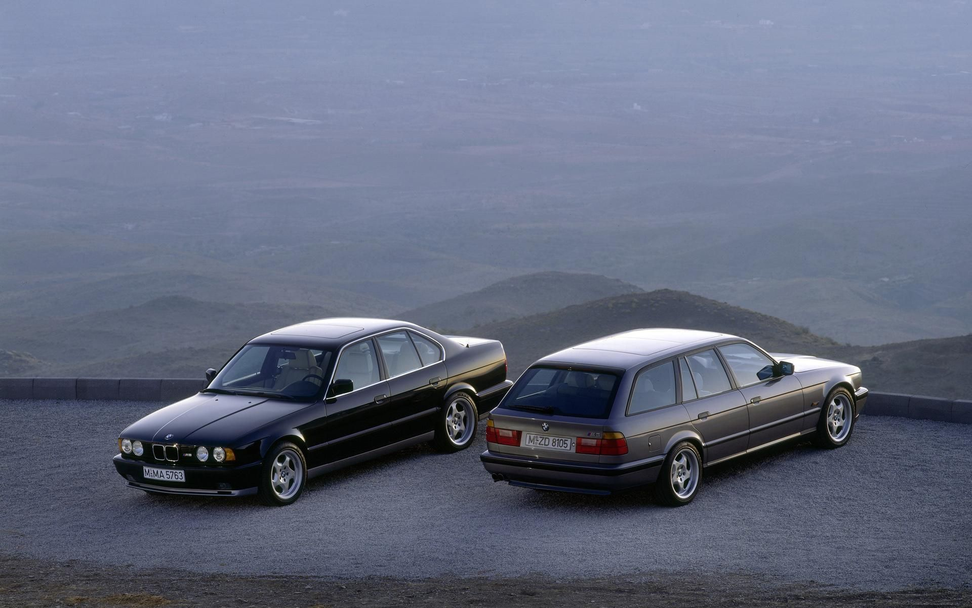European Bmw M5 Sedan And Touring Bmw E34 Bmw Bmw M5