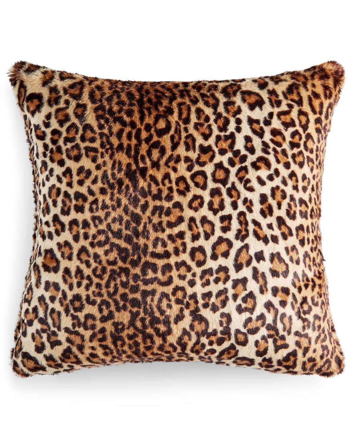 Martha Stewart Collection Animal Print Decorative Pillow And Throw