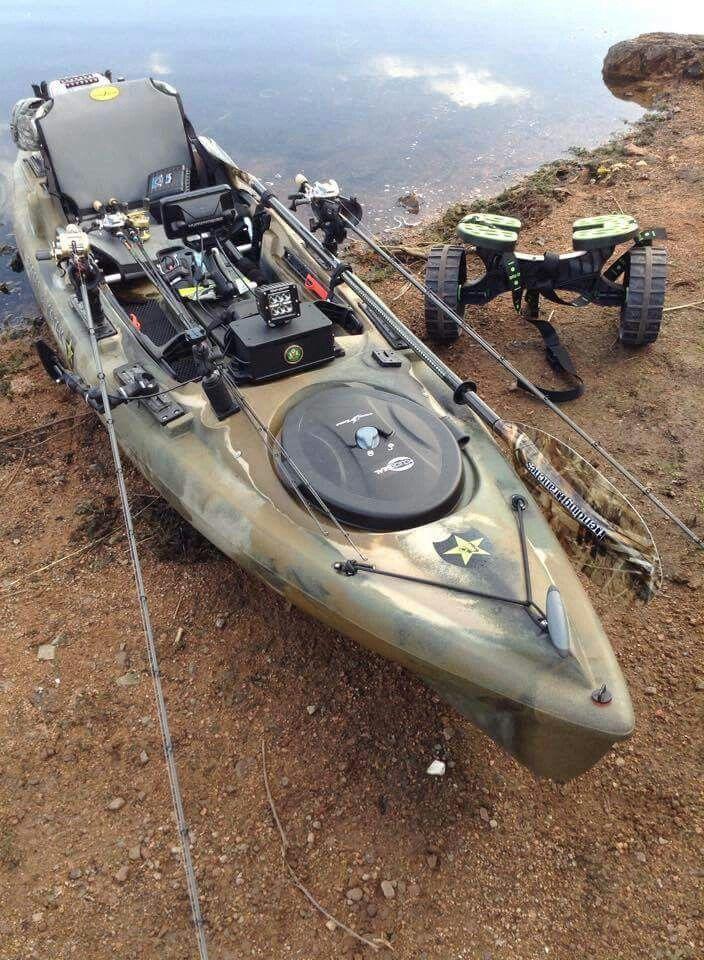 Ready Kayak Fishing Setup Kayak Fishing Best Fishing Kayak