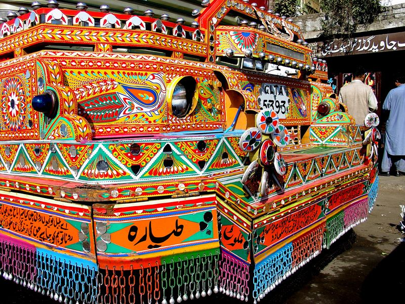 Картинки по запросу pakistani bus art