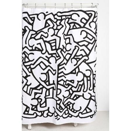 Keith Haring Shower Curtain Keith Haring Art Keith Haring