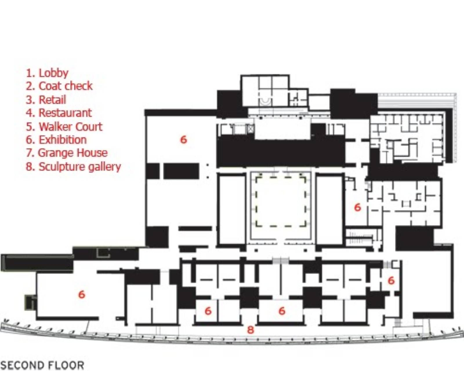 Ad classic norton house frank gehry archdaily - Second Floor Plan Art Gallery Of Ontario Ago Frank Gehry