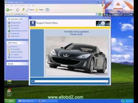 How to use lexia3 V47 PP2000 V25 Peugeot/Citroen Professional