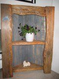 Build a Corner Shelf from reclaimed wood
